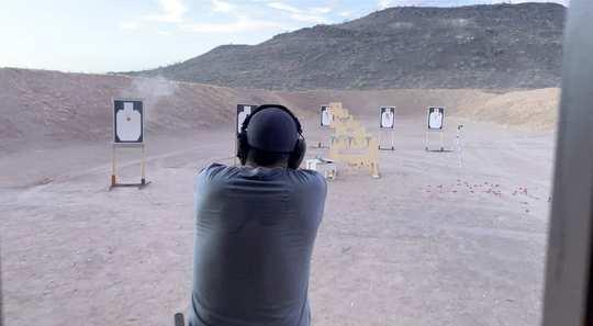 Kinetic Handgun