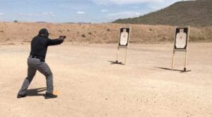 Close Quarters Defensive Pistol